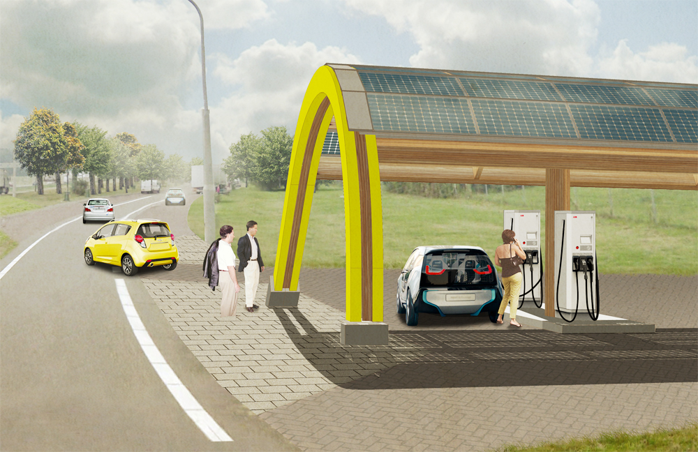 Fastned snellaadstation